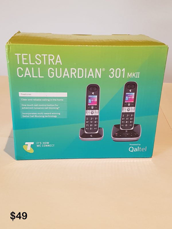 Telstra Call Guardian 301 $49