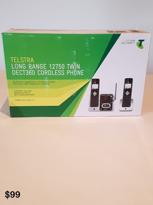 Telstra Twin DECT360 Cordless Phone $99