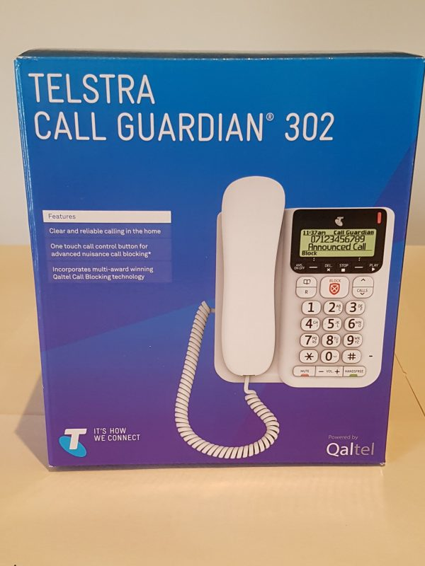 Telstra Call Guardian 302 Corded $33