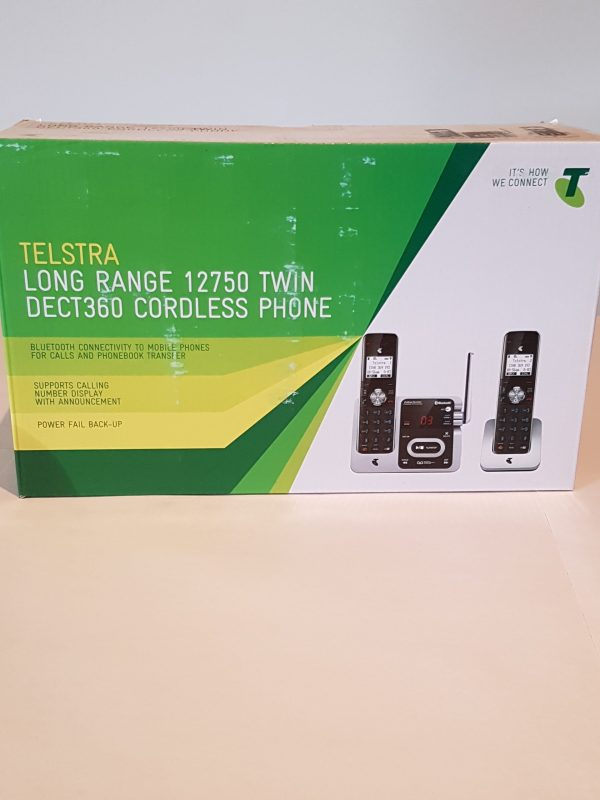 Telstra Twin DECT 360 Cordless Phone $132