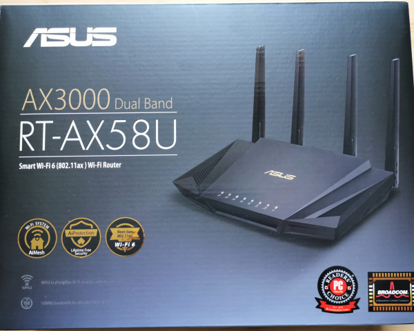 Asus AX3000 Dual Band WiFi 6 Router $398
